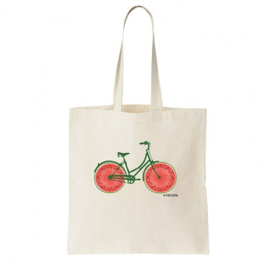 Tote bag design original motif tendance fixie design
